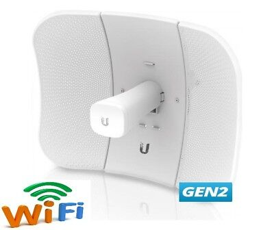 UBIQUITI LITE-BEAM Gen2 AC AirMAX 5GHz  Long Range Wifi network bridge 450 mbps