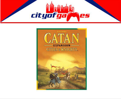 Settlers of Catan 5th Edition Cities & Knights Expansion Brand New
