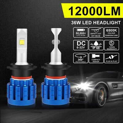 AUTOFEEL H7 LED Headlight Kit 60W 7200LM Globe Low Beam Replace Halogen Xenon AU