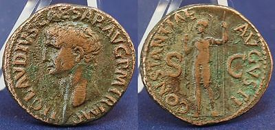 As 41-54 N. Chr. Antique/Roman Empire/Claudius Ss