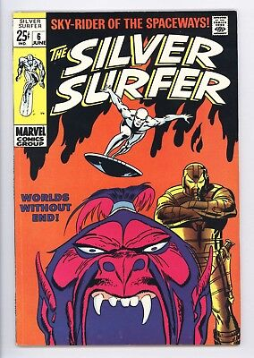 Silver Surfer #6 Vol 1 Super High Grade Tales of the Watcher Backup Story