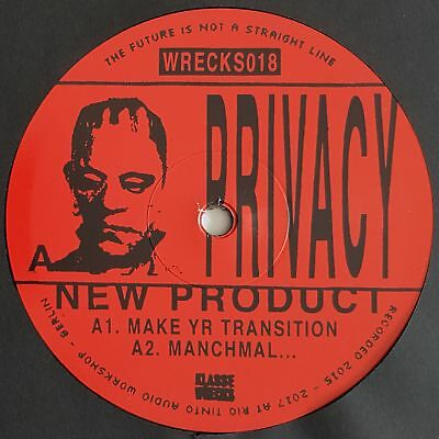 "Privacy - New Product - 12"" Vinyl - Klasse Wrecks"