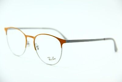 04d89284599 New Ray-Ban Rb 6375 2949 Orange Eyeglasses Authentic Frame Rx Rb6375 51-18