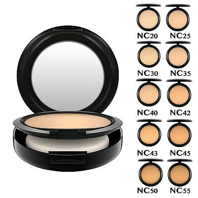MAC Studio Fix Powder Plus Foundation. ALL SHADES. Brand NEW. 15g. FREE UK P&P