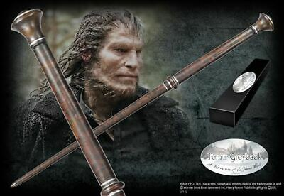 Harry Potter : FENRIR GREYBACK WAND Character Edition Noble Collection NOB8296