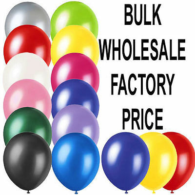 PLAIN large BALONS BALLONS helium BALLOONS Quality Birthday Wedding party new