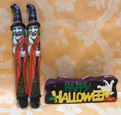 Vintage Collectible Halloween Candles