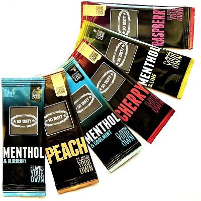 6 x PREMIUM Aroma for iQOS HEETS - Menthol & Fruity Flavor MIX // WOW !