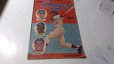 All Star Story of the Dodgers #1 1979