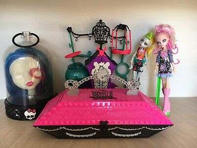 Monster high create a monster Coffin, Secret Creeper Crypt, Viper Gorgon Snake