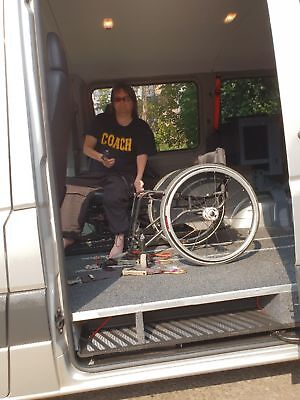 Wheelchair Accessible Mercedes Sprinter Van