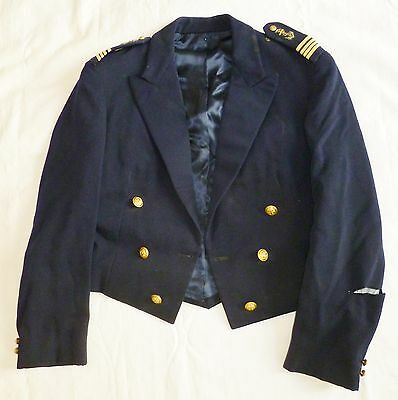 Veste Spencer Tenue De Soirée Commandant Uniforme Marine France Original