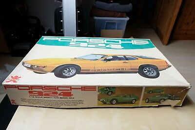Bandai Porsche 924 Model Sporty Series Number No. 2 1/16 scale model kit - RARE