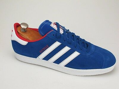 NEW ADIDAS GAZELLE Blue Red White Training Shoes 12 -  28.00  bab232c88cde