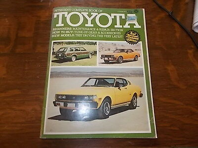 PETERSENS complete book of TOYOTA Second Edition 1977,