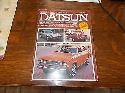 PETERSENS complete book of datsun Second Edition 1977,