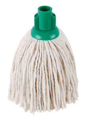 Socket Mops Green No12 (192grm) PY Cotton Yarn - Abbey - Pack of 10 - PJYG12