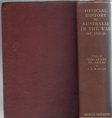 THE STORY OF ANZAC  -  VOLUME ll