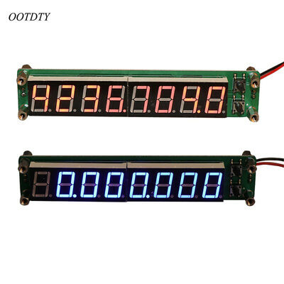 0.1-60MHz 20MHz-2.4GHz RF 8 Digit LED Singal Frequency Counter Cymometer Tester