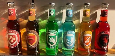 6 Call of Duty Zombies Perk a Cola Bottles Glossy with LED Black Ops 1 2 3 4