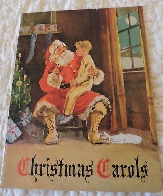 "Vintage Flying ""a""  Gasoline Christmas Carol Booklet.  Nice Condition.."