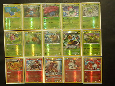 Collection complète 100% REVERSE de cartes pokemon XY7 ORIGINES ANTIQUES