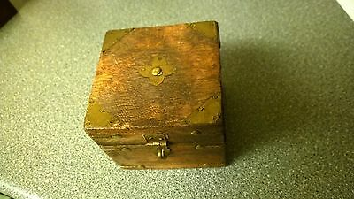 antique hand crafted box