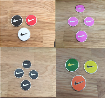 Magnetic golf ball marker (Sets of 2, 3 & 4 markers)