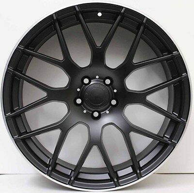 19 inch Aftermarket Alloy Wheels to suit Mercedes Benz AMG A,B,C& E CLASS BLACK