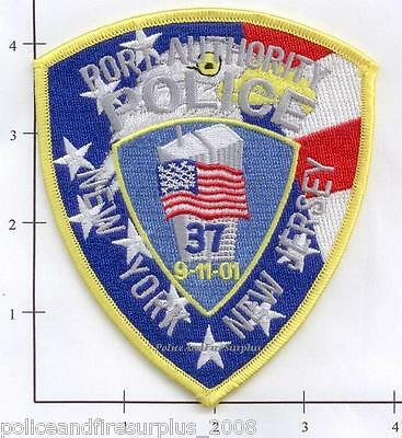 New York New Jersey - NY NJ Port Authority Police Dept Patch v3  9-11-01 WTC