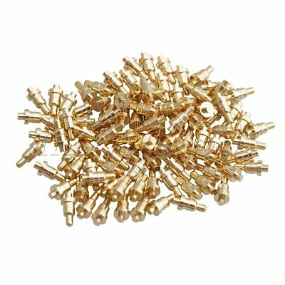 100 Piece Gold Plated PCB Test Probes Mold Part Pin Pogo Pin 1mm Pin