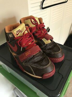 info for b715f b9e98 New 2005 NIKE AIR TRAINER 1 SB HUF GOLD DIGGER QS 306193 261 SIZE 12 Bamboo