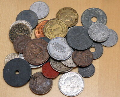 Lot of 30 Different WWII Coins 1939-1945