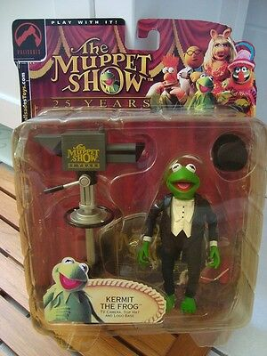 Muppets Show - Palisades - Kermit The Frog - 25 Years - Figur - Neu - Ovp