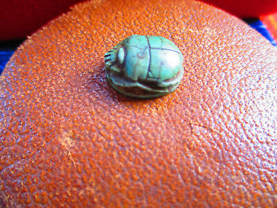 Ancient Egyptian Scarab Amulet  Authentic Antiquity