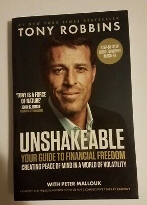 Unshakeable: Your Guide to Financial Freedom by Robbins, Tony