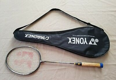 Yonex power Cl-601 badminton racket and case Carbonex Raquet