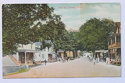 Old postcard MAIN STREET, CHESTER, MA