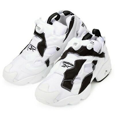 Reebok Instapump Fury OB OverBranded White Black Future M Shoes AR1413  1702-71 1 of 6 ... f88cb0f89