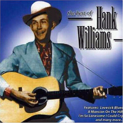 Hank Williams  CD   Best of [Mastersound] NEW SEALED