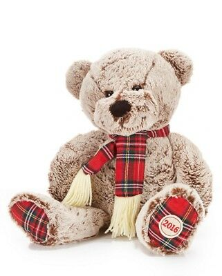 2016 20 limited edition trimsetter brown christmas bear by dillards new tags