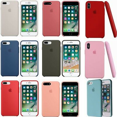 Liquid Silicone Gel Rubber Shockproof Case for Apple iPhone 6/7/8/X/XR/Xs Max