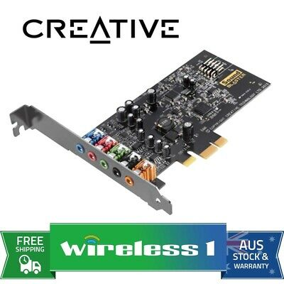 Brand New Creative Sound Blaster AudigyFX 5.1 PCIe Soundcard Audigy FX
