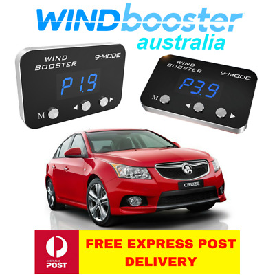 Windbooster 9-mode throttle controller to suit Holden Cruze 2009-2014