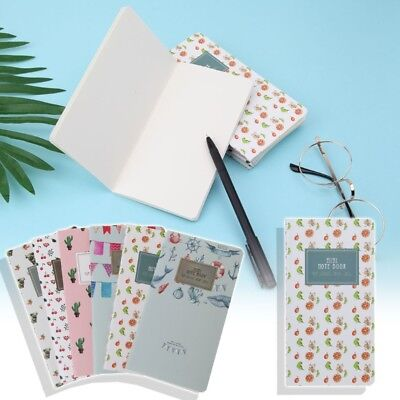Pocket 48 Lined Pages Monthly Planner Notepad Mini Memo Notebook School Supplies