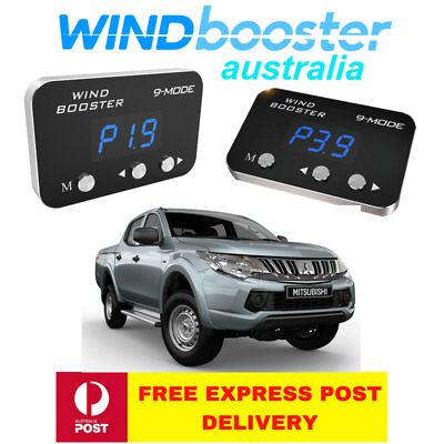 Windbooster 9-mode throttle controller to suit Mitsubishi MQ Triton 2015-2018