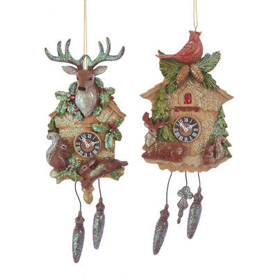 Wildlife Cockoo Clock Ornament