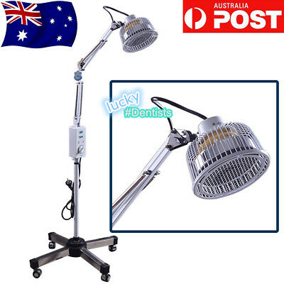 360° Adjustable TDP Lamp Infrared Light Therapy Medical Spa Floor Standing AU
