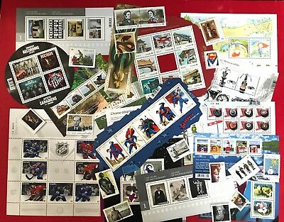 Canada 2013 Postage Stamps - Complete Year Annual Collection Stamp - Free Ship