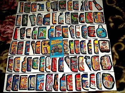 2007 Wacky Packages All New Series 6 {ANS6} Complete 80 Sticker Card Set